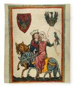 Heidelberg Lieder Fleece Blanket