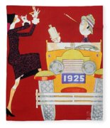 Held: Sheik & Sheba, 1925 Fleece Blanket