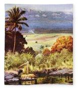 Helen Dranga Art Fleece Blanket