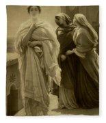 Helen Of Troy Fleece Blanket