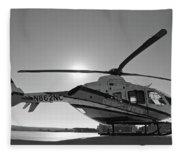 Helicopter Fleece Blanket