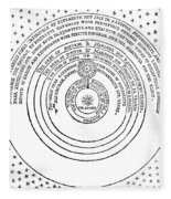 Heliocentric Universe, Thomas Digges Fleece Blanket