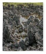 Hell - Grand Cayman Vertical Fleece Blanket