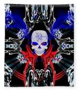 Hell Rider Fleece Blanket