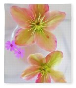Hellebore Flower Art Fleece Blanket