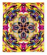 Hellflower Fleece Blanket