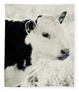 Hello World Fleece Blanket
