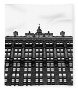 Helmsley Building Fleece Blanket