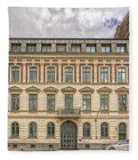 Helsingborg Building Frontage Fleece Blanket