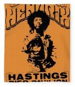 Hendrix 1967 Fleece Blanket