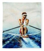 Henley On The Horizon Fleece Blanket