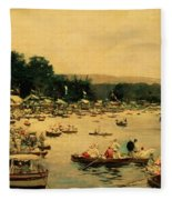Henley Regatta Fleece Blanket