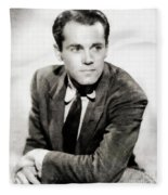 Henry Fonda, Hollywood Legend Fleece Blanket
