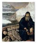 Henry Hudson And Son Fleece Blanket