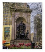 Herald Square - Nyc Fleece Blanket