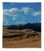 Herard Past The Dunes Fleece Blanket