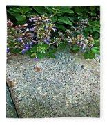 Herb Garden Walkway Fleece Blanket