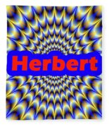 Herbert Fleece Blanket