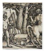 Hercules Shooting The Centaur Nessus Fleece Blanket