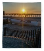 Here Comes The Sun - Avalon New Jersey Fleece Blanket