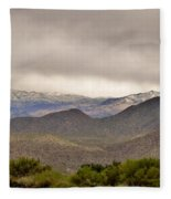 Here Comes The Sun Fleece Blanket