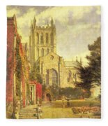 Hereford Cathedral Fleece Blanket