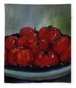 Heritage Tomatoes Fleece Blanket