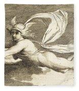 Hermes With Caduceus, 1791 Fleece Blanket