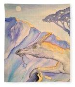Hermit Fleece Blanket