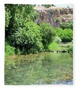 Hermon Stream Nature Reserve Fleece Blanket