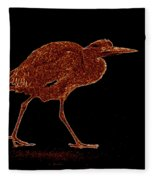 Heron Fleece Blanket
