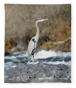 Heron The Rock Fleece Blanket
