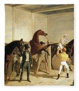 Herring, Racing, 1845 Fleece Blanket