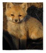 Here's Looking At You, Kit. Fleece Blanket