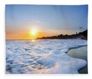 Hesler Sunset Fleece Blanket