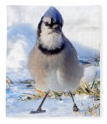 Hey Are You Talking To Me? Fleece Blanket