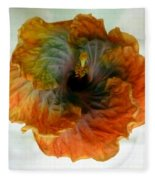 Hibiscus 13 Fleece Blanket