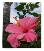 Hibiscus S D Z 1 Fleece Blanket