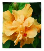 Hibiscus Fleece Blanket