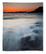 Hidden Beneath The Tides Fleece Blanket
