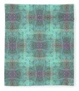 Hidden Butterfly Print Fleece Blanket