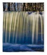 Hidden Falls Morning Glow Fleece Blanket