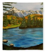 Hidden Lake Fleece Blanket