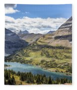 Hidden Lake Overlook Fleece Blanket