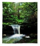 Hidden Rainforest - Painterly Fleece Blanket