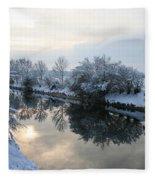 Hidden Sun Fleece Blanket