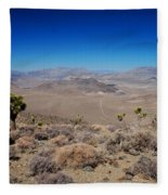 Hidden Valley Daeth Valley National Park Fleece Blanket