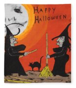 Hide The Halloween Candy Fleece Blanket