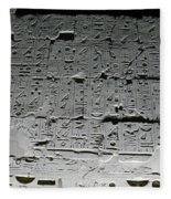 Hieroglyphics Fleece Blanket