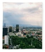 High Altitude Mexico Fleece Blanket